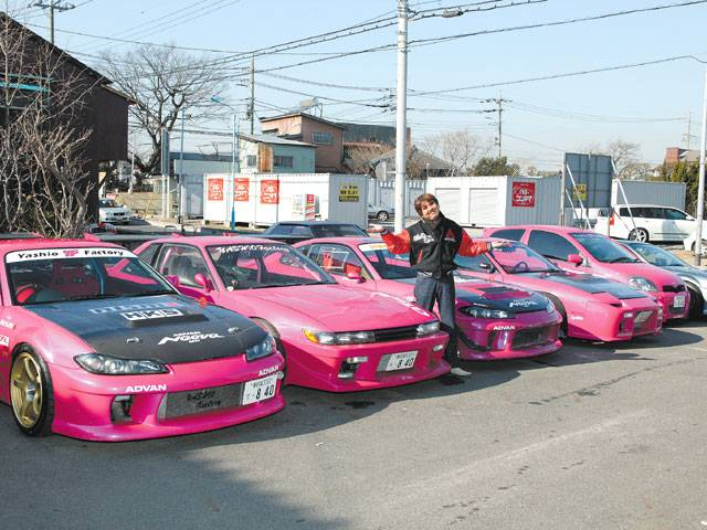 PINK cars,does it bother you? - yashiofactory1